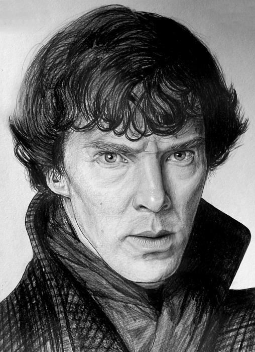 Benedict Cumberbatch par Lazzzy